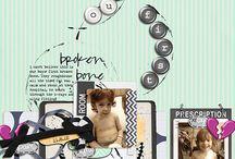 My Digital Scrapbook Layouts / by Michelle Huegel