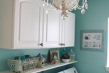 laundry room ideas / by Tiffany Melius