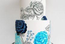 2 # Cakes - Color & Royal icing / by Marina Pirkulashvili