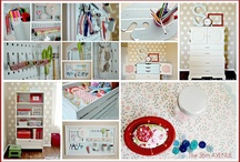 Scrapbooking Spaces and organizing ideas / by Nada Zakaria