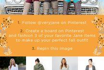 Jane.com Fall Fashion / MY best Fall Fashion board  / by Barbara Ryan