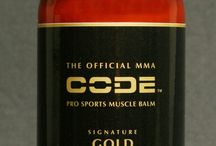 MMA MUSCLE BALM / The Official MMA Code Pro Sports Muscle Balm is scientifically formulated to simply do one thing, and that's to Work. Our all-natural Signature Gold with advanced Alphamino Compound is the most comprehensive proprietary pro sports balm that you will find in any market to date!  / by MMA CODE