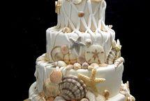 Wedding Cakes, White. Indian Weddings Magazine / Indian Wedding inspirations: White Wedding Cakes / by Indian Weddings & California Bride