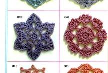 Puntadas y aplicaciones a crochet / Distintas puntadas que nos ayudan a tejer / by Barbie DeS