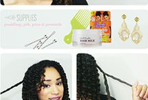 natural healthy hair / by Aaliyah Mckenzie