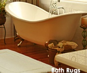 Bath Rugs & Mats by Mohawk Home / Bath rugs can provide a dramatic aesthetic appeal to an otherwise dull bathroom.  / by Mohawk Home