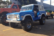 60's & 70's Ford Broncos / by Laydon Cooper