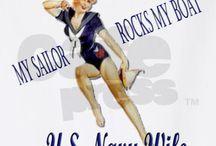 ⚓ Navy ⚓ / by Sassy Redheaded Momma