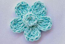 Crochet-- Flowers - bows - headbands / by Olivia Odom
