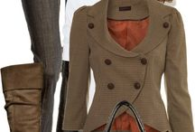 Fall Fashion 2014 / I look forward to a lot of olive/army green and rich sienna browns this year! / by Renee Reed