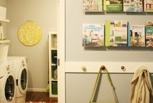 Laundry Room/Basement / by Erin Van Arsdell Durning