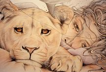 Art - animals / by Ray Wall