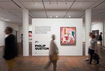 Philip Guston: Painting Smoking Eating / 4.6.2014 - 7.9.2014 Louisiana Museum Modern Art / by Louisiana Museum of Modern Art