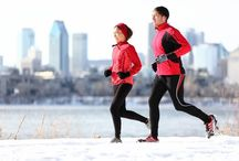 Winter Running / Don't let the snow and ice stop your running. In fact, with a set of ICEGRIPPER chains, cleats or studs you can go further in wintry conditions and really make the most of your time outdoors. Why not add your photos of your time running in the snow and ice? / by ICEGRIPPER