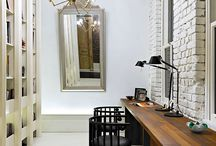 home : studio + office + library / by Ava Holt