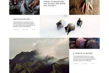 web layout / by Gabriel Lagos