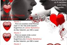 Valentine Day  / Packages and programs for the special event on the 14th of February / by Hotel Riviera -Carcavelos, Lisbon Coast