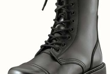 Military Footwear / Rugged shoes and boots including jungle boots, combat boots, dress oxfords and more.