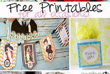 free printables / by Linda Caro