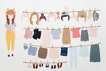 I'm a paperdoll. / I like clothes. And shoes. And purses. A whole lot. / by Stephanie Roland