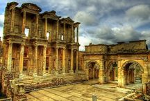 Historical Places In Turkey / Pictures and sites about historical places in Turkey / by Natalie @Turkish Travel Blog
