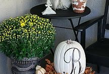 front porch decorating / by Amy Edwards