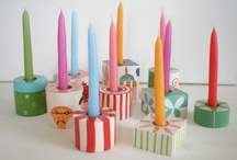 for Party / Candle / by Prudie Sept