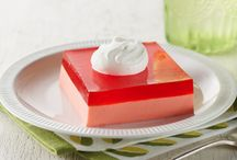 Fun with JELL-O / A lot of people don't know that JELL-O brand makes more than just JELL-O gelatin/pudding. FUN UP your baking repertoire with these JELL-O dessert ideas!  / by Kraft Recipes