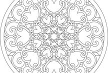 coloring pages / by Karen King