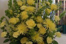 Funeral flowers / Funeral flowers / by Dinkie Hammons