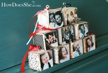 christmas crafts / by Julie Shields-Soontiens