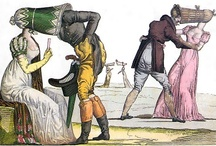 Bawdy, Witty, & Scathing / Because we have SUCH a weakness for 18th-19th c satirical prints.... / by TwoNerdyHistoryGirls ***