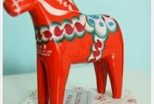 Dala Horses / by Elisabeth W