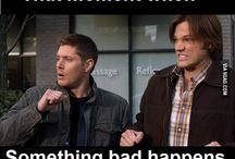 Stay Calm  the Winchesters are here / by Rebecca Ybarra
