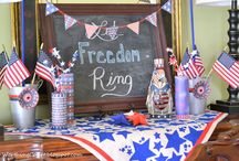 4th of July / Super cute ideas for ways to celebrate Independence Day! #4thofJuly  / by Name Bubbles