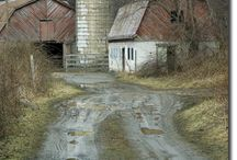 barns / by Tina Tipps