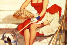 Pin up's / by Lisa Gale