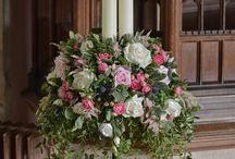 Pedestal Flowers / by R Low