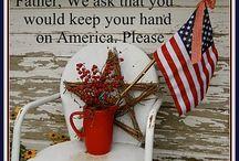 Patriotic American / by Renda Lutz