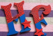 Spiderman craft / by patricia tristan