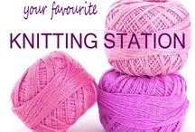 Knitting Station / www.knittingstation.com / by Knitting Station