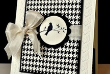 black and white cards / by Nancy Juliano