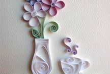 Cards ~ Quilling / Paper Crafts Ideas for Quilling / by Jody Brunz