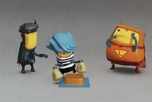 Characters / by Wojciech Zalot