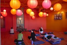 yoga spaces / by Alison Downs