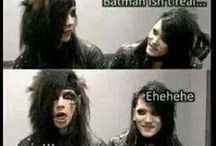 black veil brides / I love my Andy. No one take my Andy or I'll haunt you forever. :) / by Stormy