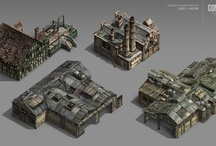 Architecture - Game / Pixel / Low Poly / by Nick Porcino