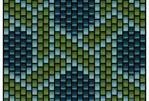 Peyote Bands Pattern / by Natalia Savastano