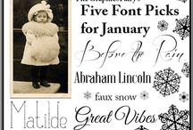 Fonts / by Nancee Smith