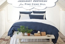 My Dream Summer Bedroom / We are in the process of redecorating our bedroom.  Just bought the light wood flooring...   Need to get rid of that green carpet that my husband and his ex-wife picked out.  After almost 7 years of marriage - I need to make it 'our' space! / by Cheryl Maksymowski